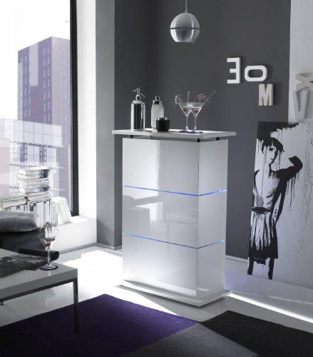Bartisch Primo Minibar in weiß