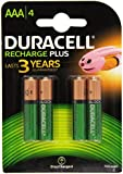 Duracell Rechargeable Accu HR03 750 mAh AAA Batteries - 4-Pack