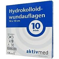 AKTIVMED Hydrocolloidwundauflage 10x10 cm 10 St Verband preisvergleich bei billige-tabletten.eu