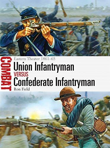 Union Infantryman vs Confederate Infantryman: Eastern Theater 1861-65 (Combat, Band 2)
