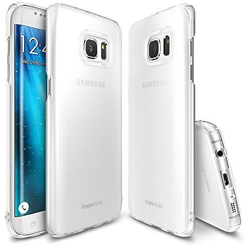 Coque Galaxy S7 Edge, Ringke [SLIM] Essentiel Mince, Ajustement Parfait & Protection de Bord Incurvée, Résistant Aux Rayures Difficile Coque pour Samsung Galaxy S7 Edge - Frost White
