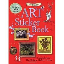Art Sticker Book (Usborne Sticker Books) by Kate Davies Sarah Courtauld (2009-08-01)