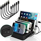 Best I Pad Docking Stations - IMLEZON Multi Device Charging Station with Switch 5 Review