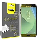 dipos I 3X Pellicola Protettiva Compatibile con Samsung Galaxy J7 2017 - Rivestimento del Display al 100% - Pellicola di Protezione