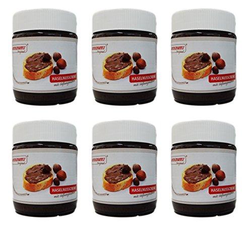 l - Haselnusscreme mit Erythrit - 6 x 250g ()