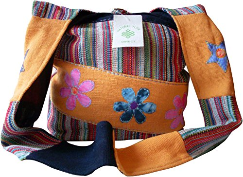 Fair Trade Flower Print Bag