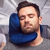 J-pillow Travel Pillow - Head, Chin and Neck Support - British Invention of the Year - Navy Bild 2
