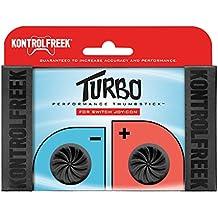 KontrolFreek Turbo Performance Thumbsticks für Nintendo Switch Joy-Con (Schwarz)