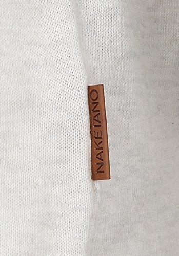 Naketano Female Knit Gespreizt wie Gereizt White Marble Melange