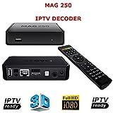 Mag 250 IPTV Decoder HDTV 1080p HDMI HD TV Box Media Player USB