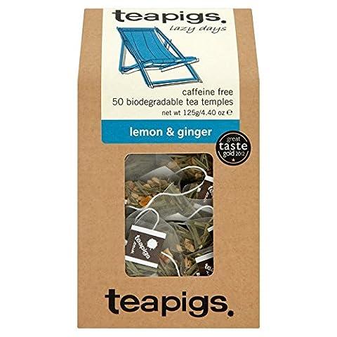 Teapigs Lemon & Ginger 50 per pack