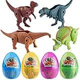 MMLCt Simulations-Dinosaurier-Spielzeug-Modell verformte Dinosaurier-Ei-Sammlung für Kinder Spielzeug (A)