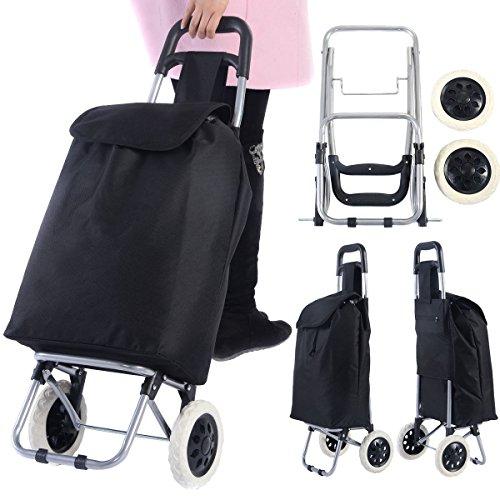 Generic Einkaufstrolley mit Rädern, zusammenklappbar, leicht, tragbar