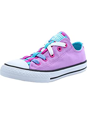 Converse Chuck Taylor All Star Loopholes Junior Fuchsia Glow Textile Trainers