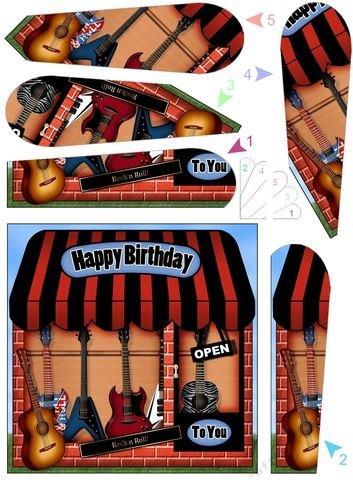 8x 8The Little Baby Boy tienda Topper por Carol Clarke Kits de fabricación de tarjetas Hogar y cocina