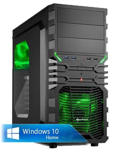 Ankermann-PC Raptor Gamer, AMD FX-8370, 8x 4.00GHz Turbo: 4.20GHz, ASUS GeForce GTX 750 Ti 2048 MB, 8 GB DDR3 RAM, 1000 GB Festplatte, Microsoft Windows 10 Home 64Bit (Deutsch), Card Reader, EAN 4260219656078 (Nvidia Evga Ddr5)