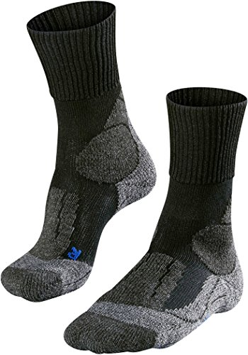 falke tk1 cool Falke Herren Trekkingsocken TK 1 Cool 2er Pack, Black Mix (3010), 39/41