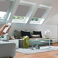 Elegant Original VELUX Premium Solar Verdunkelungs Rollo DSL FK06 0705 Uni Grau  Passgenau Für GGL GPL