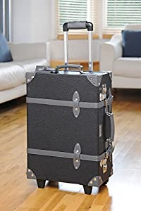 """Mezzi 20"""" Lightweight Handheld Wheeled Roller Carry on Flight Cabin Approved Travel Hand bag Luggage Suitcase Baggage Case ."""