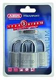 ABUS 64TI/40_TRIPLES Candado, 40mm