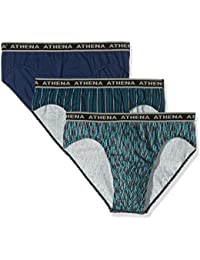 Athena Men's Tonic Briefs (Pack of 3)