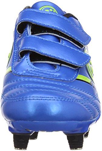 Optimum Tribal, Chaussures de Football Garçon Bleu (blue/green)