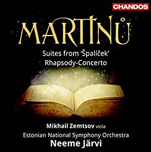 Martinu / Suites from Spalicek