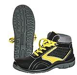 Seba 578CE Schuh High S3SRC, schwarz/gelb, Größe 40