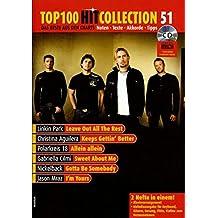 Top 100 Hit Collection 51: Das Beste aus den Charts / Noten - Texte - Akkorde - Tipps. Band 51. Klavier / Keyboard. (Music Factory)