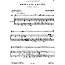 Holford: Dance For A Gnome For Oboe and Piano. Partitions pour Hautbois/Accompagnement Piano