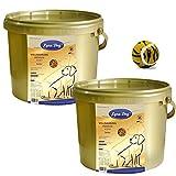 2 x 1 kg Lyra Dog Senior im Eimer Premium Hundefutter für ältere Hunde + Ball