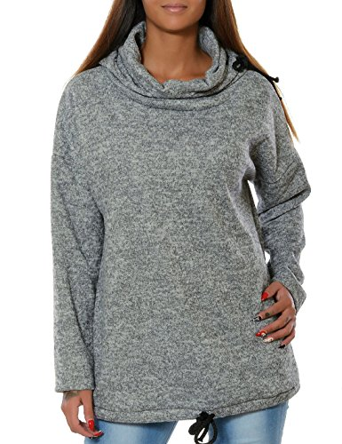Automne Hiver Femme Mode Hooded Sports Sweat-shirt Tops à Manches Longues Loose Casual Sweats à Capuche Pull Hoodie Survêtements Gris