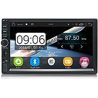 KX011 Android Car Stereo Navegación GPS Quad Core Auto Radio AM / FM 2 Din Pantalla Táctil de 7 Pulgadas 1024 * 600 BT Control del volante 1GB RAM 16GB Soporte ROM Cámara de Visión Trasera DVR Wi-Fi