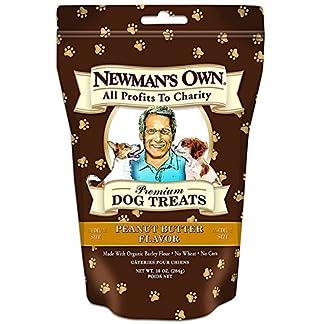 Newmans Own Organics 60887 Organic Peanut Butter Medium Dog Treats Newmans Own Organics 60887 Organic Peanut Butter Medium Dog Treats 51nSidTp63L