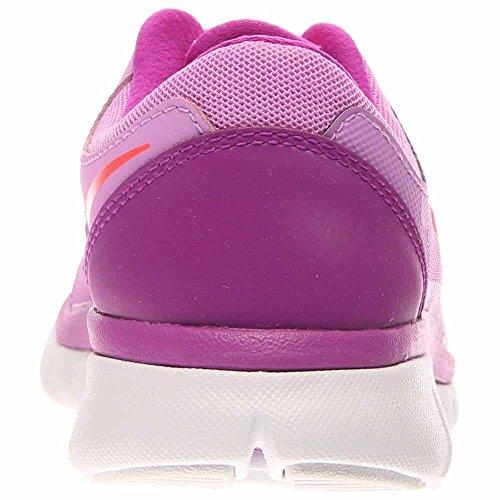 Nike - Flex 2015 Run (Gs), Sneakers infantile Fuchsia Glow/Black/Purple/Bright Crimson