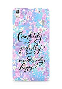 AMEZ completely and perfectly and incandescently happy Back Cover For Lenovo K3 Note