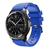 #5: Allywit New Fashion Sports Silicone Bracelet Strap Band For Samsung Gear S3 Frontier