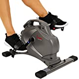 Sunny Health & Fitness SF-B0418 Magnetic Mini Exercise Bike Gray