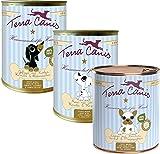 30 x 800g Terra Canis Welpe Mixpaket (10 x Lamm, 10 x Rind, 10 x Geflügel)