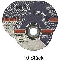 10 Stück EK Trennscheiben 125 x 1,0 x 22,23 mm