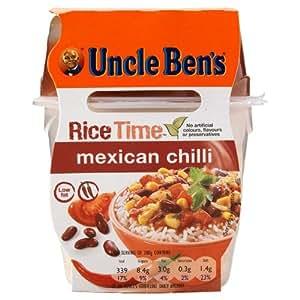 UNCLE BEN'S RiceTime mexicain piment 300g (Pack de 5 x 300g)
