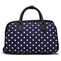 LeahWard® Ladies Butterfly Print Travel Bag Holdall Hand Luggage Women s  Weekend Handbag Wheeled Trolley Sale fbc0e3d9b2063