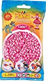 HAMA MIDI 227-48 - Perlen Pastell pink 1000 Stück Bügelperlen