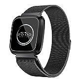 POIUDE Smartwatch Wasserdicht Wristwatch Aktivitätstracker Sport Fitness Kalorien Armband Wear Smart Watch Pulsmesser