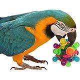 Binky Ball Spielzeug für Papageien, groß