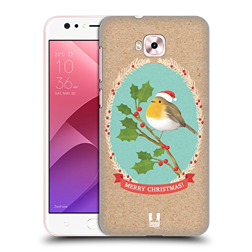 Head Case Designs Rotkelchen Weihnachtsklassiker 2 Ruckseite Hülle für Zenfone 4 Selfie ZD553KL