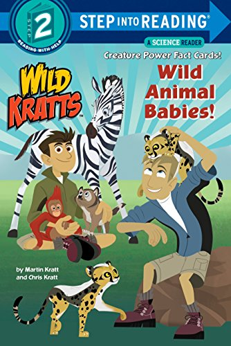 Wild Animal Babies! (Wild Kratts) Step into Reading Lvl 2 (Step Into Reading 2) por Chris Kratt