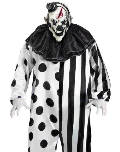 Unheimlicher Horror Clown Halloween Fasching Karneval Verkleidung - Scary Killer Clown Kostüm