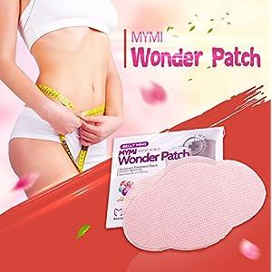 MYMI Wonder Patch – Abnehmpflaster 5 Stück pro Packung – 100% natürlich Inhaltsstoffe – Abnehmen Diät Bauch – inkl. deutscher Gebrauchsanleitung