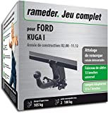 Rameder Attelage rotule démontable pour Ford KUGA I + Faisceau 13 Broches...